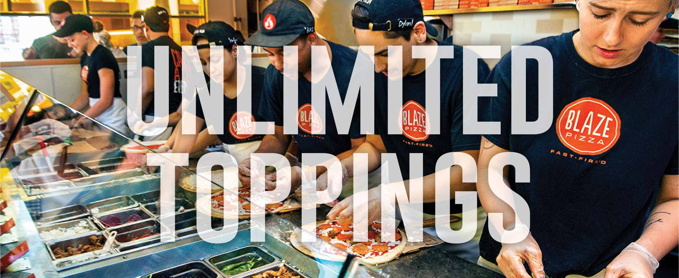 Unlimited Toppings